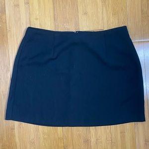 A. Byer California mini skirt black
